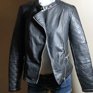 Leather jacket- Therapy brand